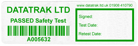 PASSED-Safety Test    Barcode