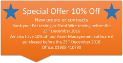 Special Offer 10% off