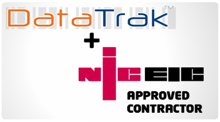 "DataTrak gains ""NICEIC Approved Contractor"" status"